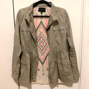 Blu Pepper Aztec Military Jacket